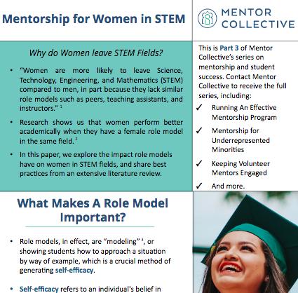Mentorship for Women in STEM -