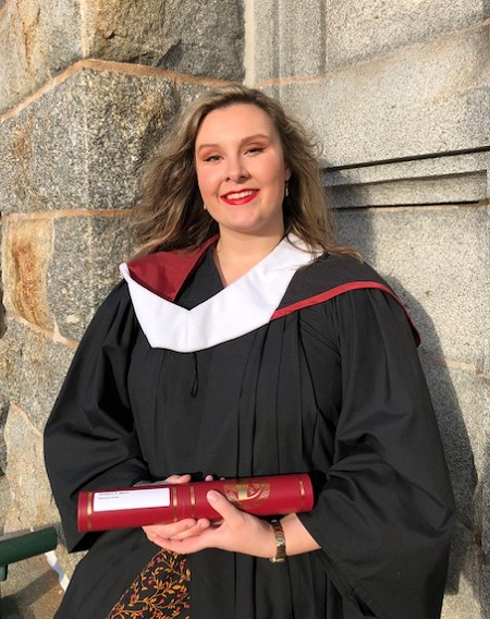 Saint Mary's Honours Philosophy graduate Robbie Mason.