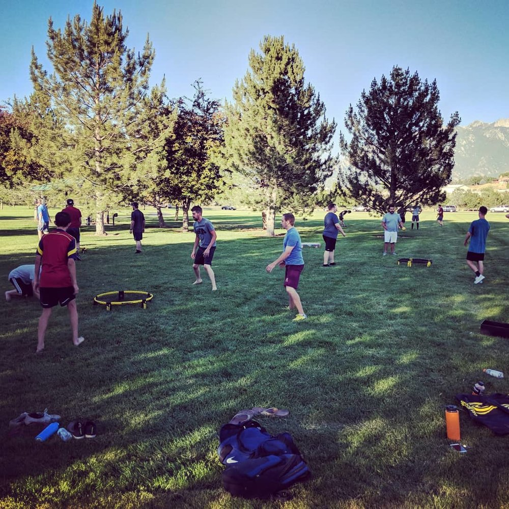 Utah Spikeball League - Registration for the SoJo League has closed, but still feel free to show up and play some pick up games while the league plays - there's plenty of space!