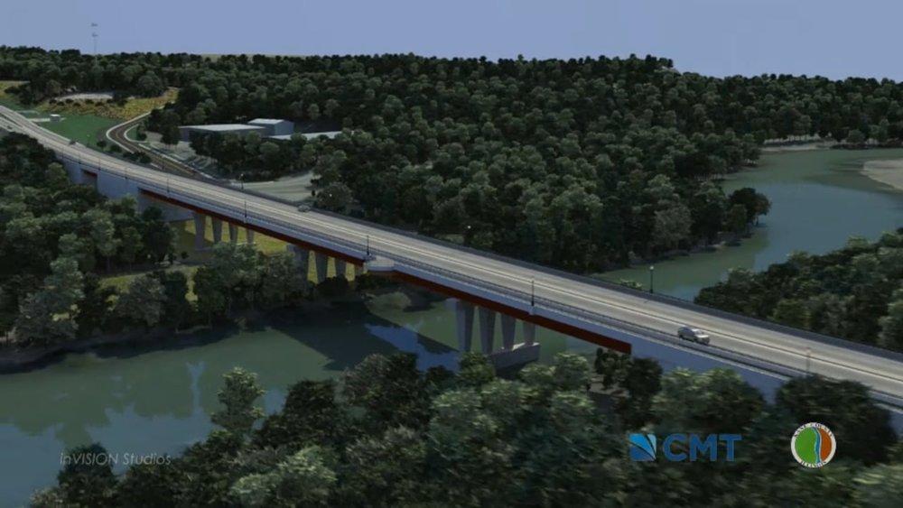 Longmeadow Bridge Rendering