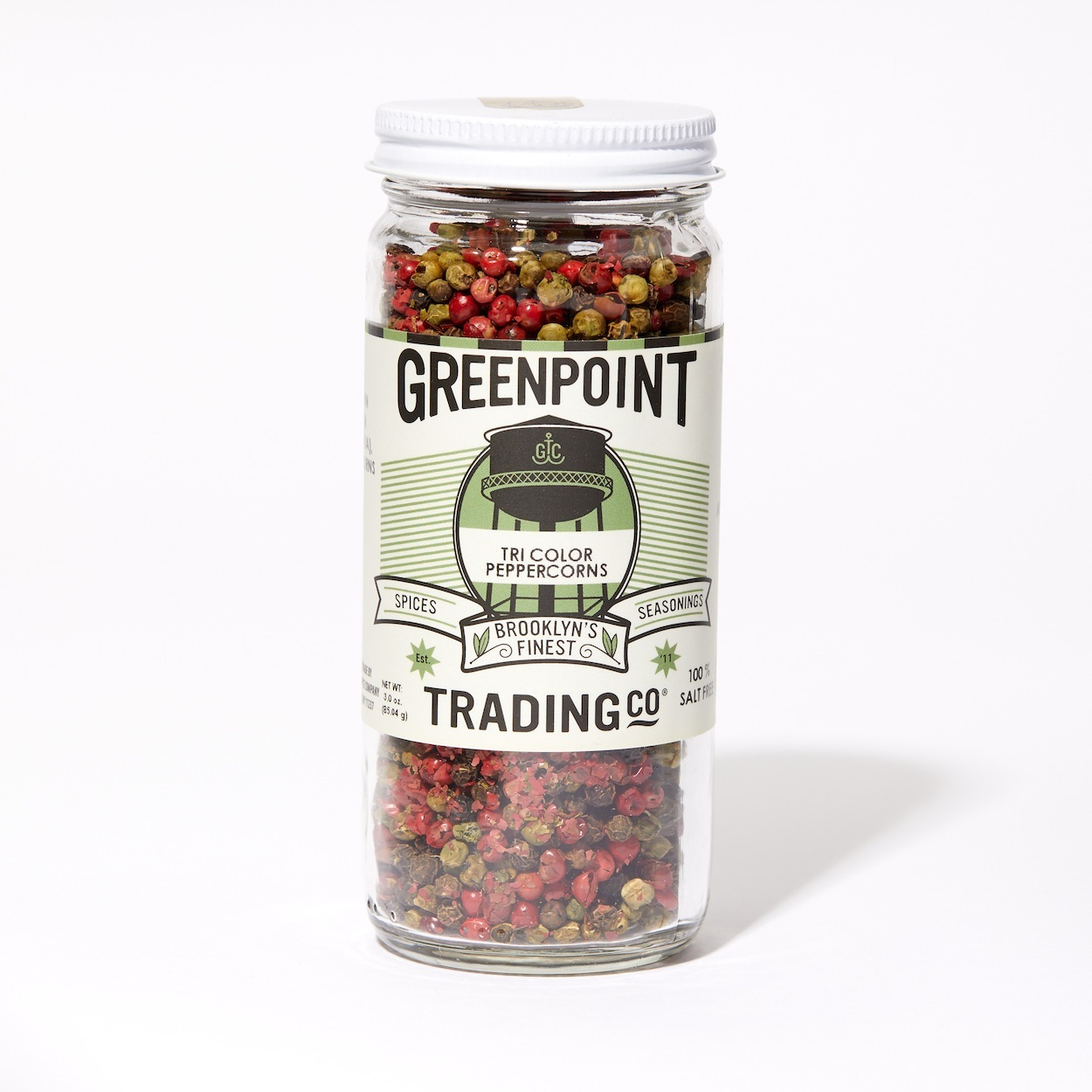 Tri Color Peppercorns Greenpoint Trading Co