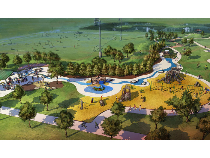 - Shady Lane Park Revitalization project was designed by Talley Landscape Architects, Inc. The park plan is already in final construction phase drawings and construction is expected to start in early summer.