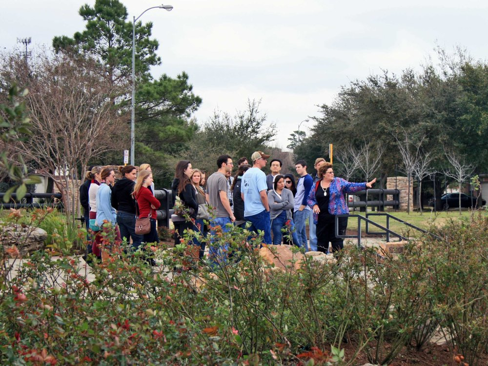 - Mandolin Gardens Park was selected to serve as a case study for graduate students in the Land and Property Development Program at Texas A&M.