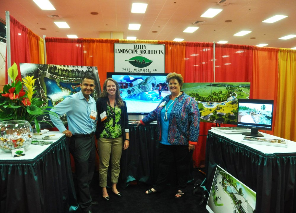 - Talley Landscape Architects, Inc. was pleased to see many friends and meet new ones at the 2013 AWBD Annual Conference held in the American Bank Center in Corpus Christi, Texas.