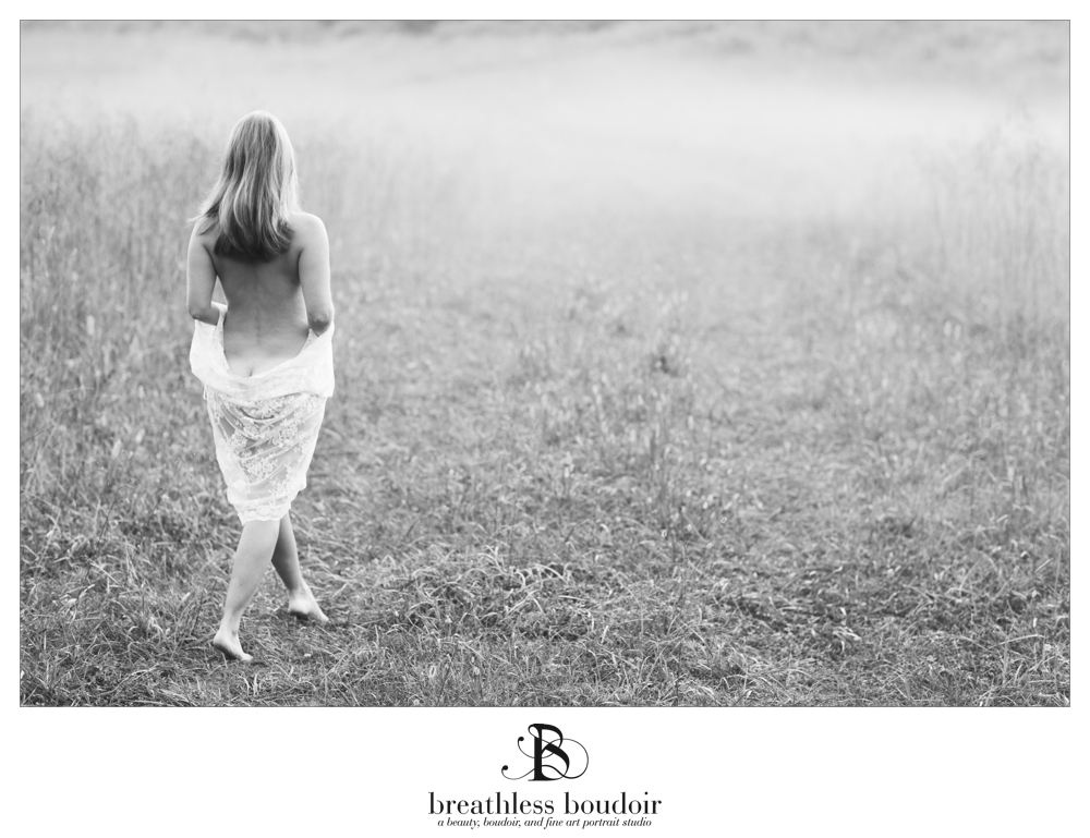 charlottesville fine art photography black and white nude in nature
