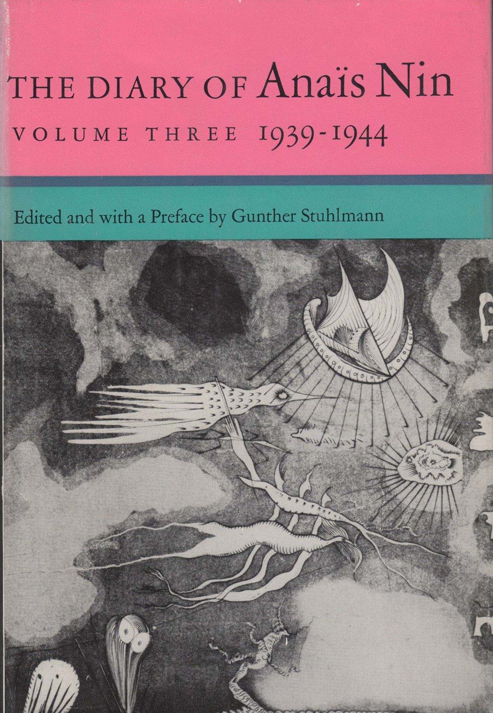 The Diary of Anais Nin Volume Three