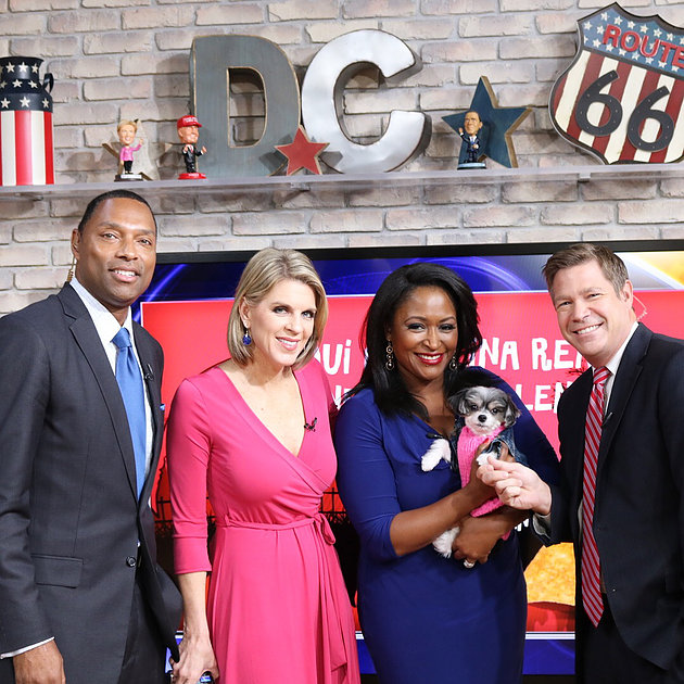 While in D.C. I was a special guest on FOX'S GOOD DAY D.C.