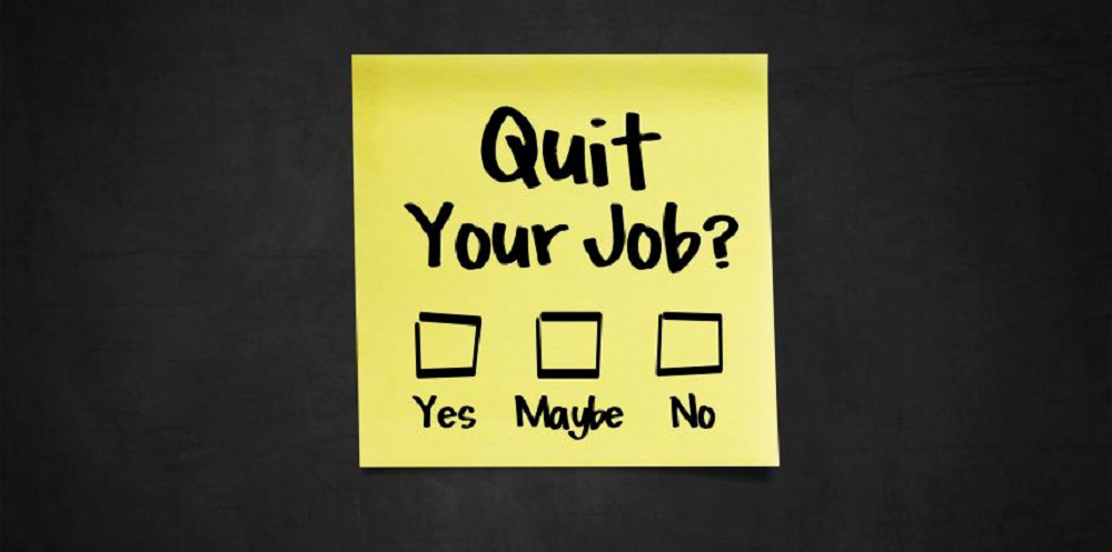 picture quote about quit your job