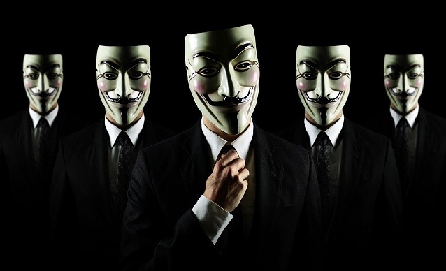 Faces of anonymous groups