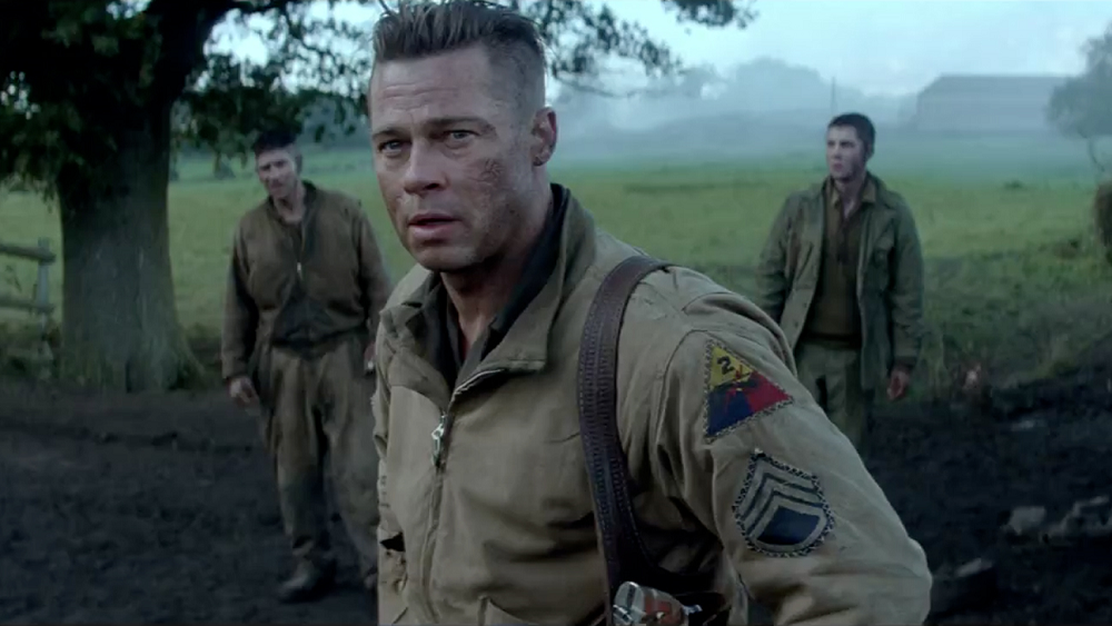 Brad Pitt movie Fury