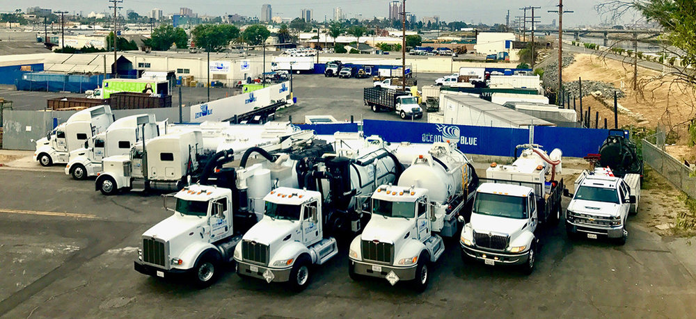Our fleet of Vacuum trucks