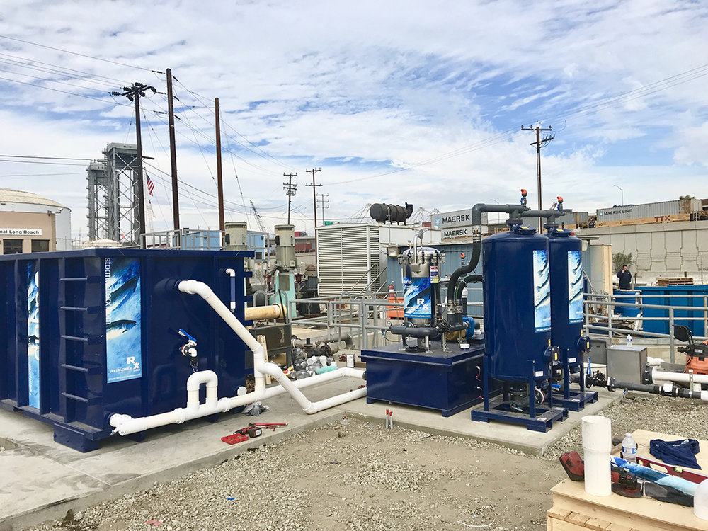 Installation of a stormwater treatment system to comply with the City's Stormwater pollution prevention plan (SWPPP), the National Pollutant Discharge Elimination System (NPDES) and the MS4 Stormwater discharge permit.