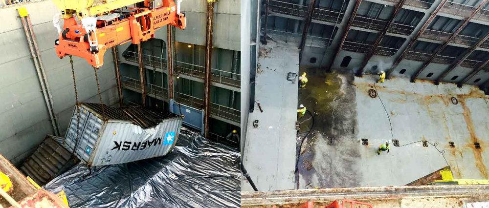 Cargo Spills -