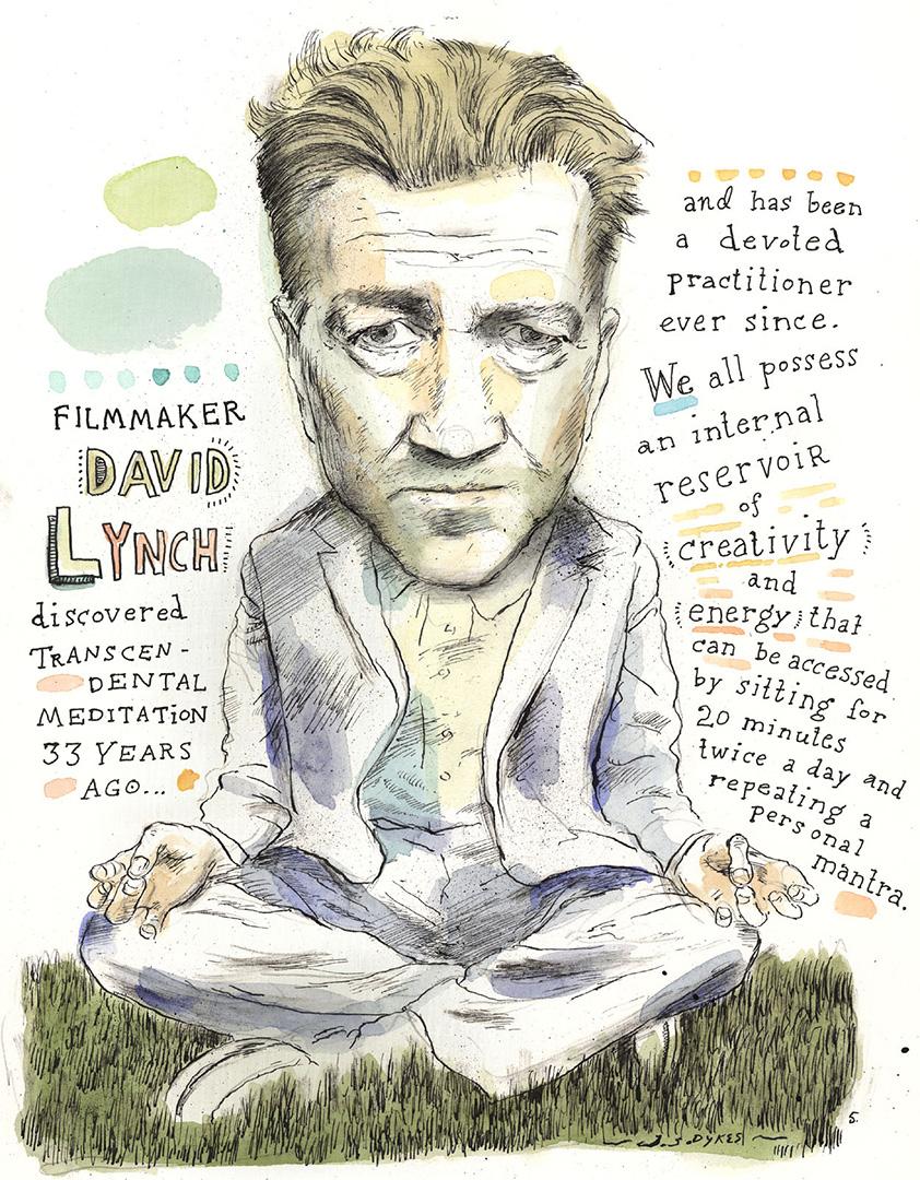 David Lynch for The Boston Globe.