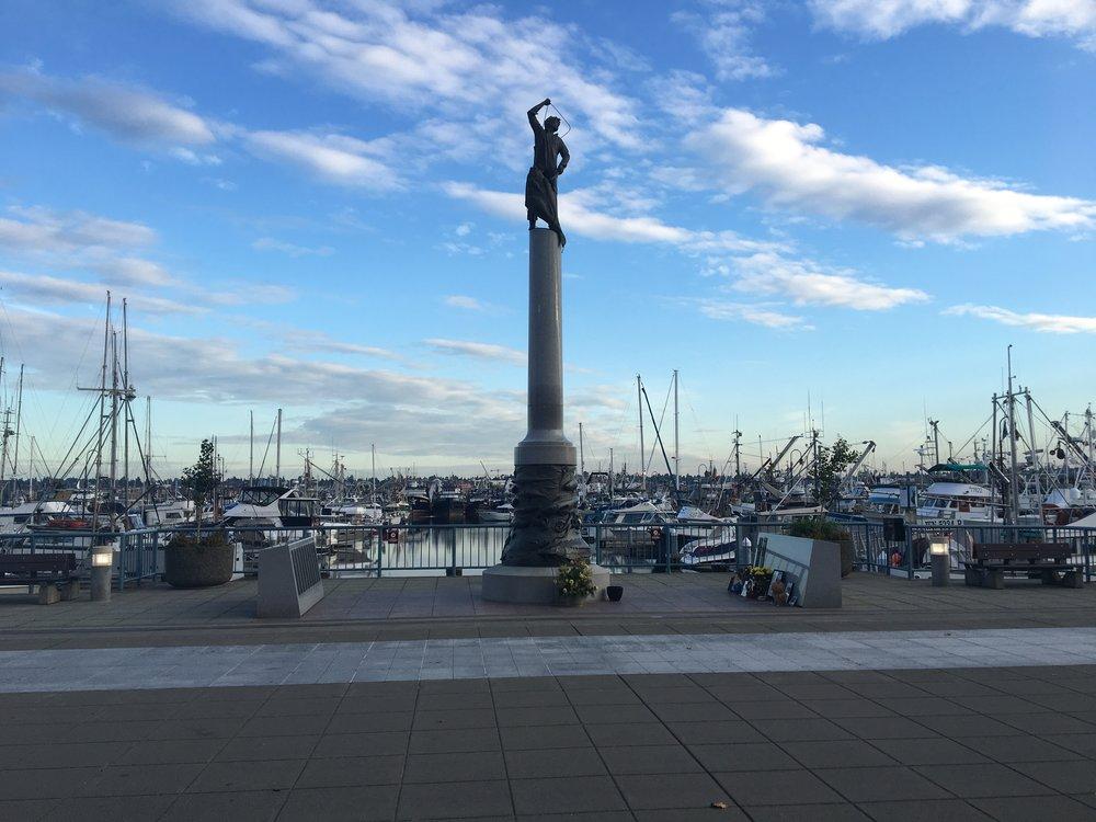 Seattle's Fishermen's Terminal -  Fishermen's Memorial