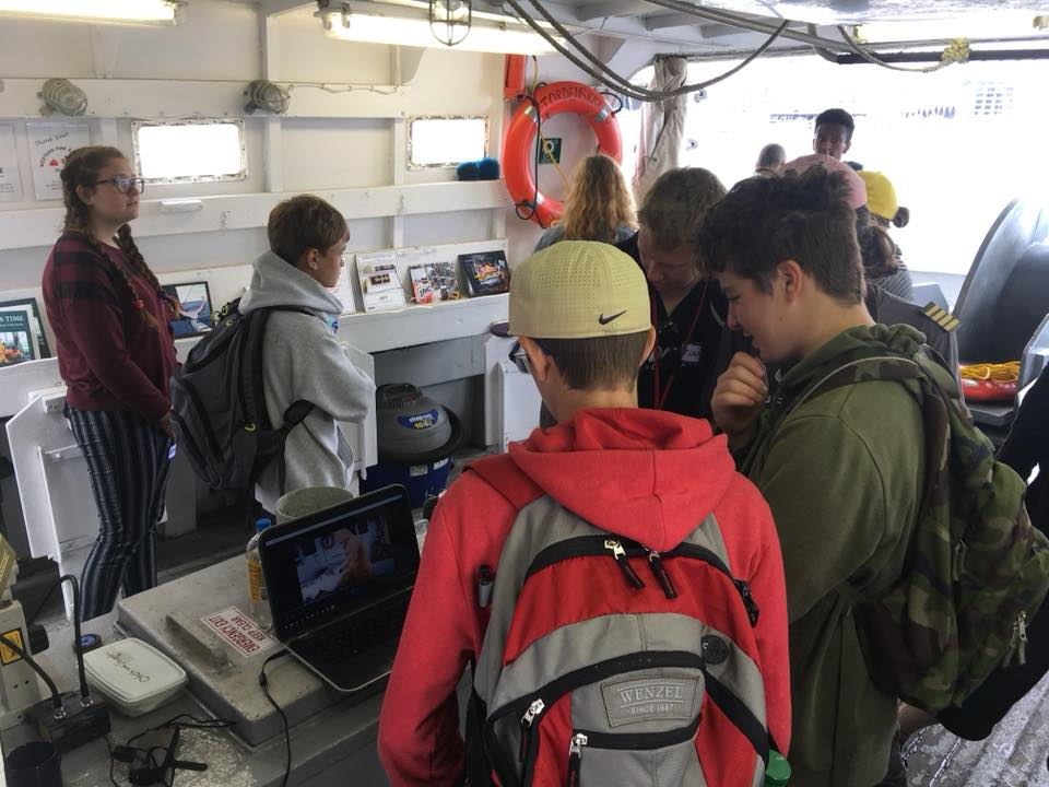 Hands on learning - fishing science, technology and technique aboard the F/V Tordenskjold.