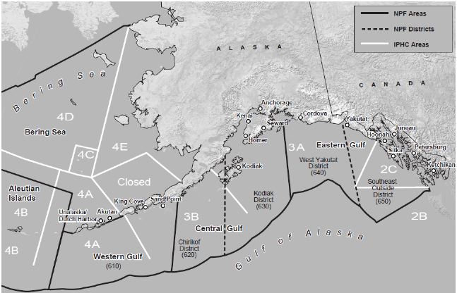 North Pacific Fishery Management Council Regulatory Area