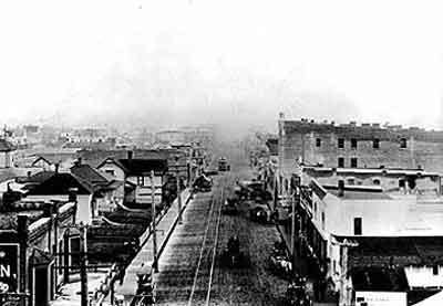 Old time Ballard of the early 1900s