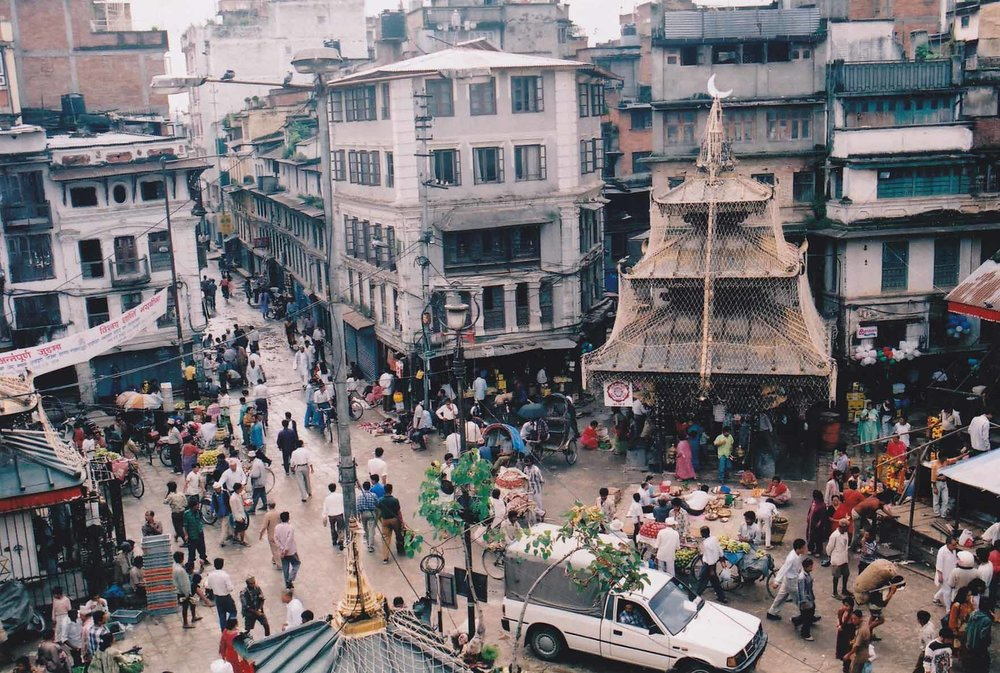 Rooftop view of Asan Bazaar (Source:  Wikipedia )