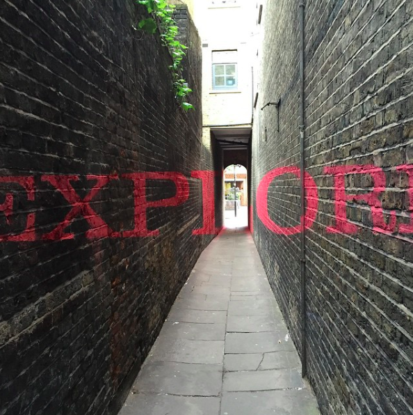 "Anamorphic ""Explore"" for Clerkenwell Design Week"