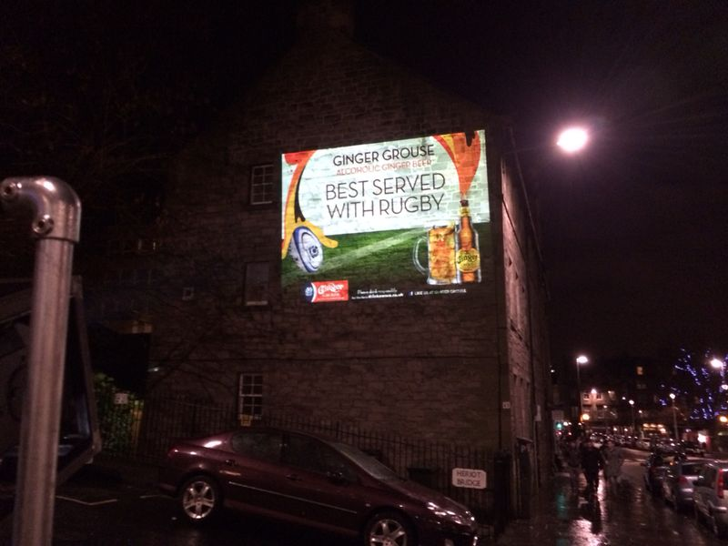 Projection Advertising Glasgow