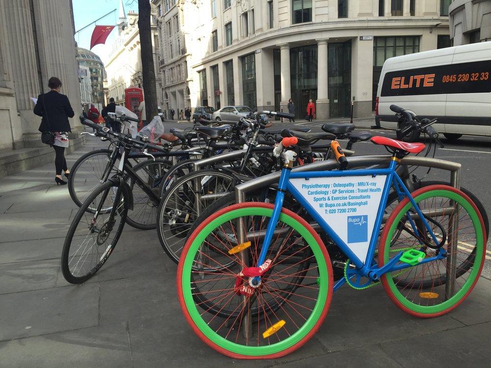 bike frame advert