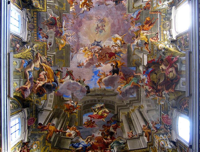 Vault of the Church of St. Ignazio