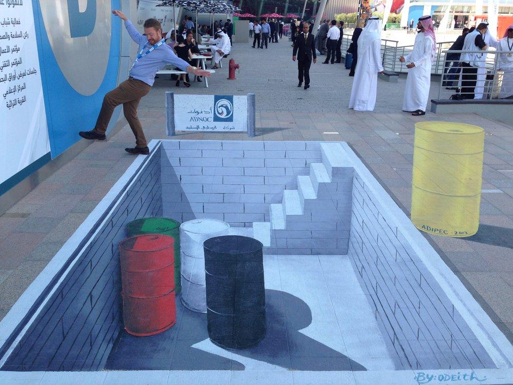 3d Anamorphic Art Dubai