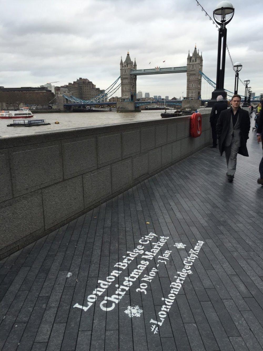 Floor Stencils Markets London