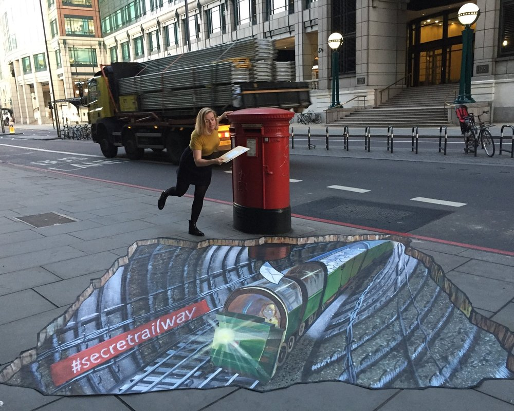 3D art and murals -