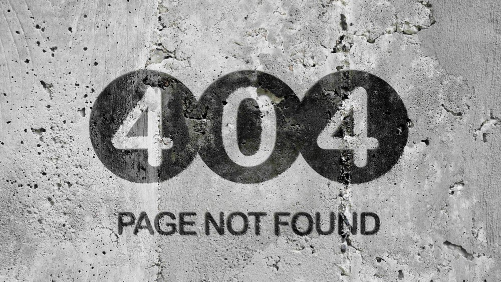 404 page not found graffiti