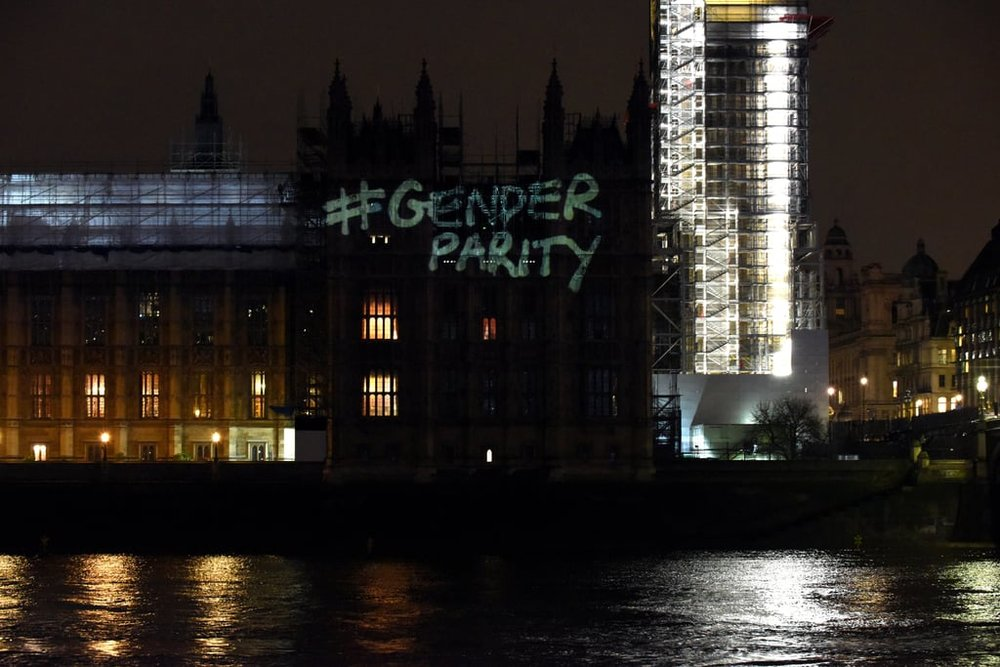 Houses of Parliament Projection