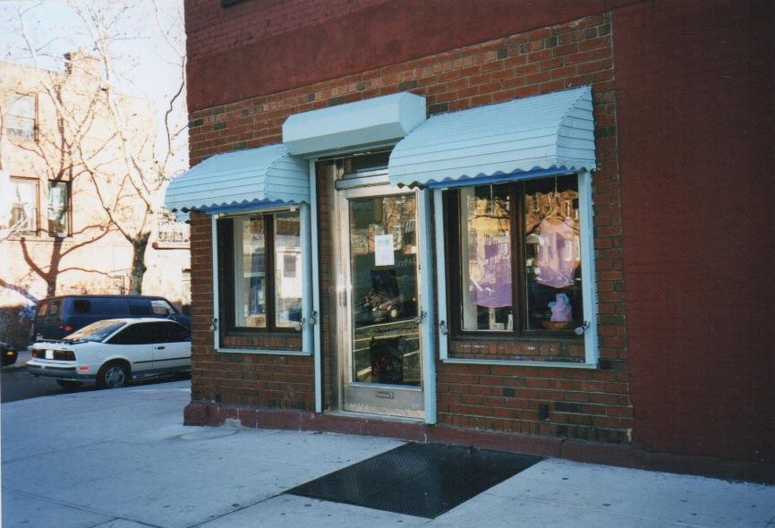 The original Brooklyn storefront of Stacia New York circa 1998.