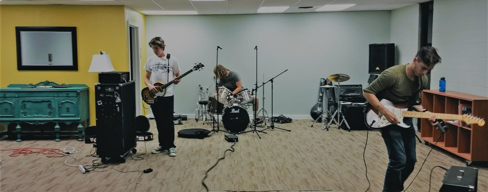 "The Phets recording ""Breakthrough"" with Alternative Means Productions"