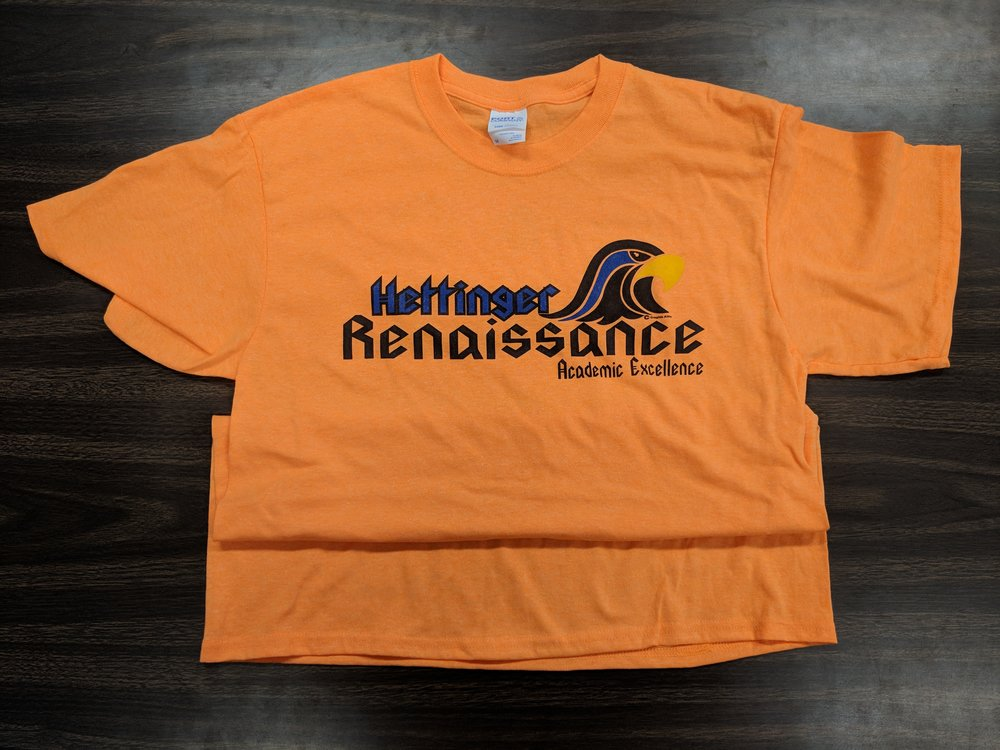 RENAISSANCE BRANDED T-SHIRT (AVAILABLE IN MANY DIFFERENT COLORS!)