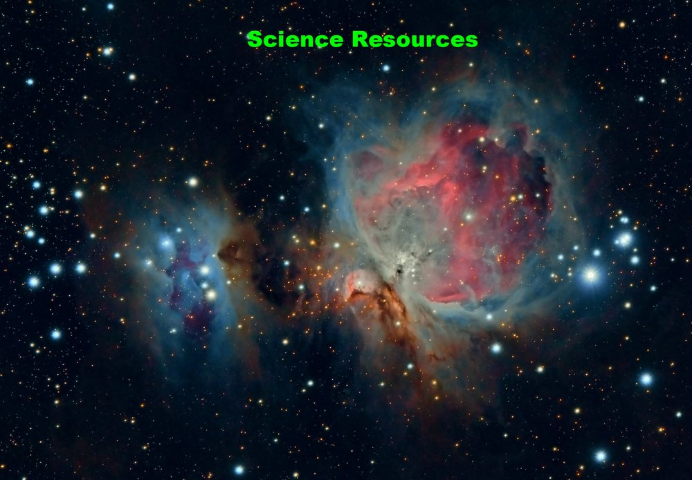 Science Resources - access to all space…