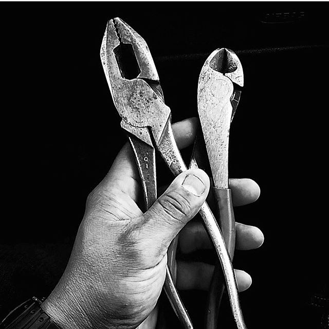 Tools (@klein_tools) of the trade. 📷 by @benb1982 | #tools #pliers #hardwork #buildingamerica #kleintools
