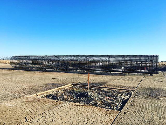 #14bar #splicecage #barlock #kleintools #tiewire #caissons #transmissionlines #mdrmind #foundations #ottertail  BSSE project, south dakota