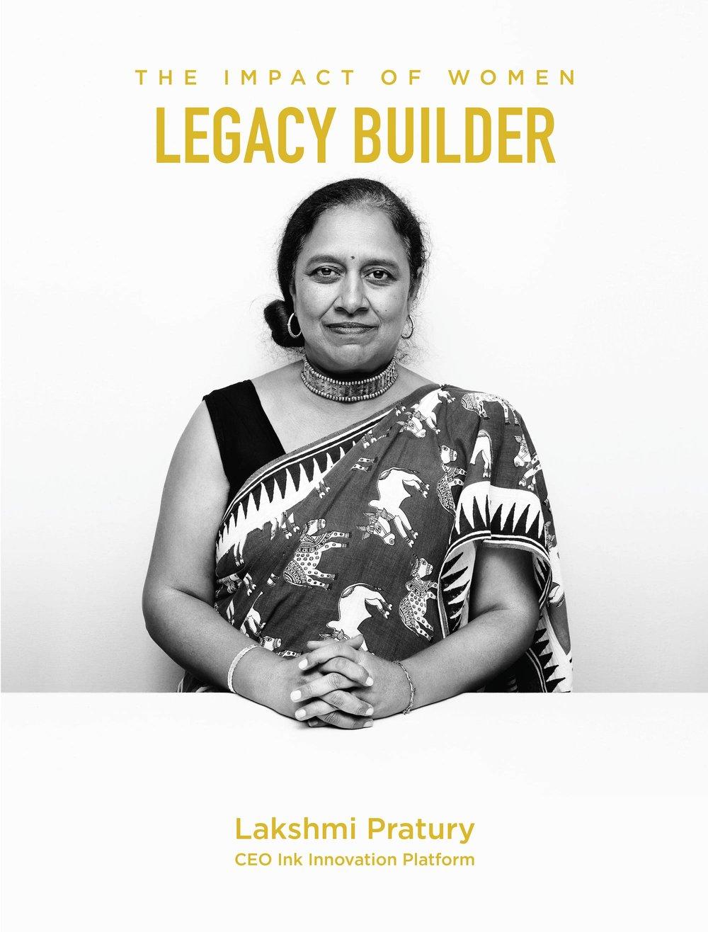 Lakshmi Pratury is a Legacy Builder