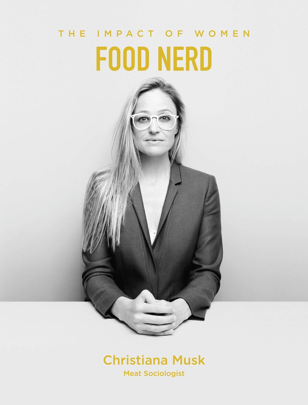 Christiana Musk is a Food Nerd