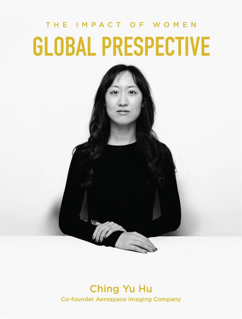 Ching Yu Hu has a Global Perspective