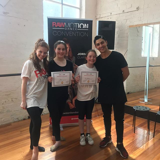 And of course s/o to our second Melbourne stop scholarship winners @dancer_zali_ & @kiarnee_dancer_since_2005! See you in April!  #RAWMASTERCLASS