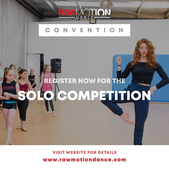 We WILL be hosting a SOLO COMPETITION at our 2019 Australia & New Zealand events. REGISTER NOW to secure your spot to be judged by our international faculty! Link in bio.