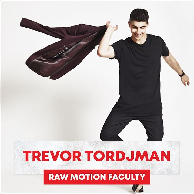 """We're STOKED to have @trevorflanny locked in for our April Conventions in Australia & New Zealand! Secure your spot NOW! Link in bio. —————————— Trevor Tordjman began studying dance at the age of 4 in his mother's dance studio, Confidance. Although Trevor was exposed to and trained in many forms of dance, he quickly developed a passion for Hip Hop and Breakdancing. Dedicating the majority of his free time to performing dance from a young age, he landed his first major television role in 2012 when he was cast as """"James"""" in the hit dance series, The Next Step. He was a huge part of the show's success as he went on to starring in over 100 episodes, directing an episode, and co-choreographing several of The Next Step's International tours. He found a true passion in acting.  He career as an actor continues to flourish with leading roles like """"Bucky"""" in Disney's Z-O-M-B-I-E-S"""