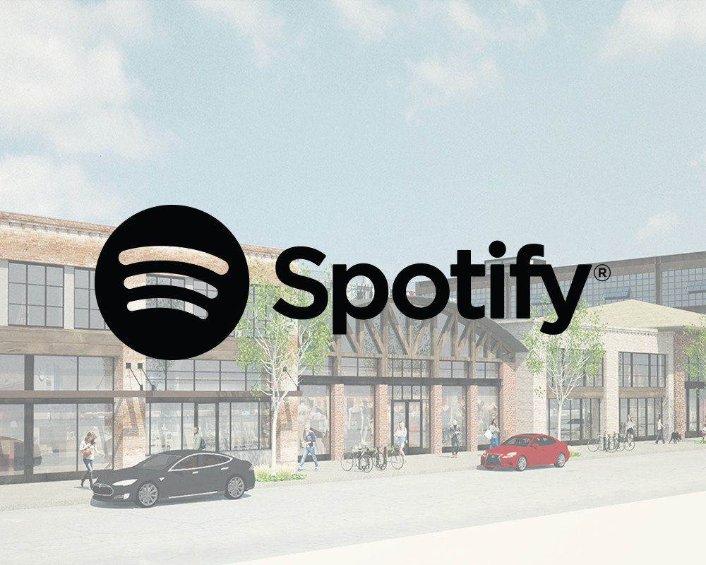 Spotify opens regional headquarters arts district - Music streaming service Spotify will open a new regional headquarters in Los Angeles's Arts District.Representatives of the recently opened At Mateo office and retail complex announced Monday that the Swedish tech company had signed on to lease approximately 110,000 square feet of office space at the site
