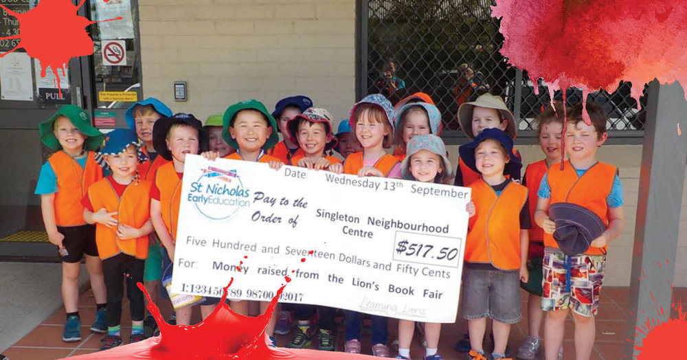 St Nicholas Early Education Singleton's Learning Lions Kindness Project