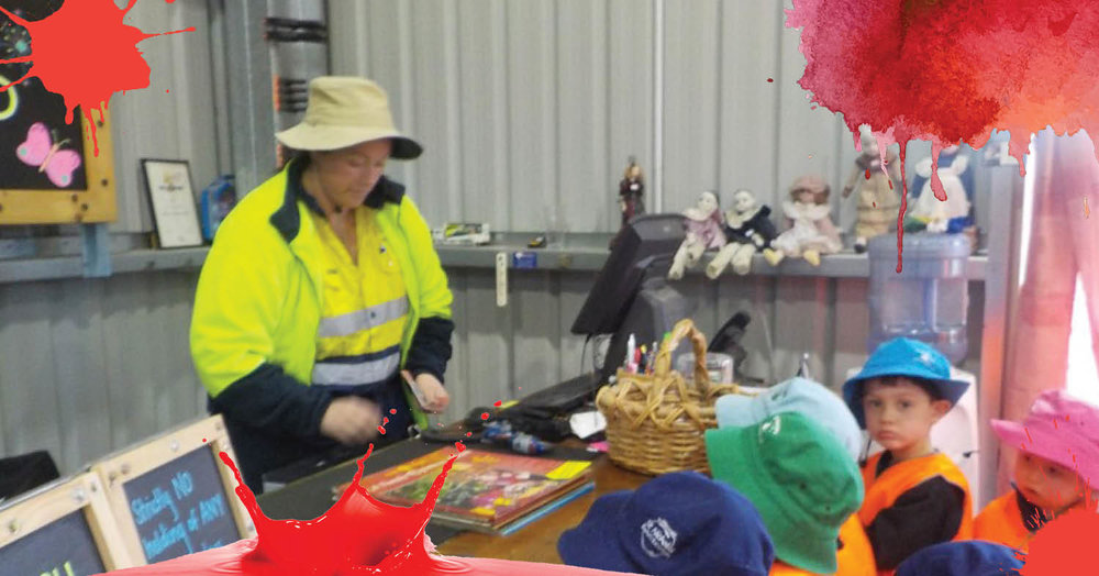 St Nicholas Early Education Singleton goes on a waste management excursion