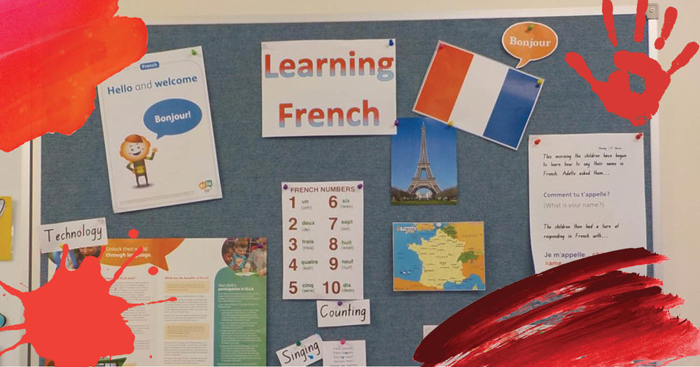 French discovery at St Nicholas Early Education Singleton