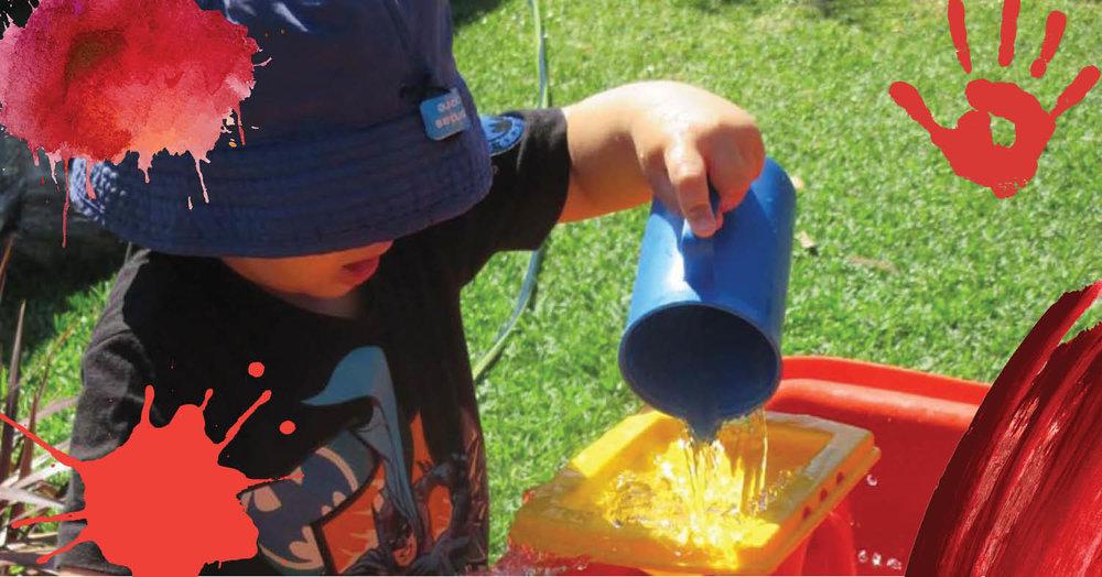 Summer arrives at St Nicholas Early Education Singleton