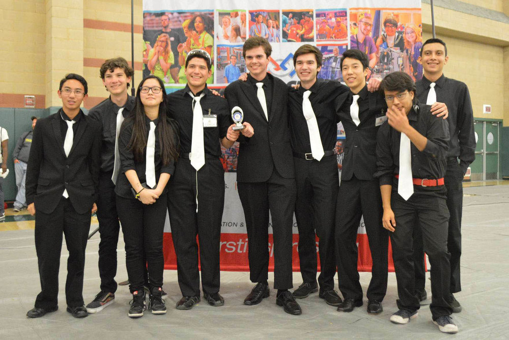 Monrovia High School Robotics Team Qualify for World Championships -